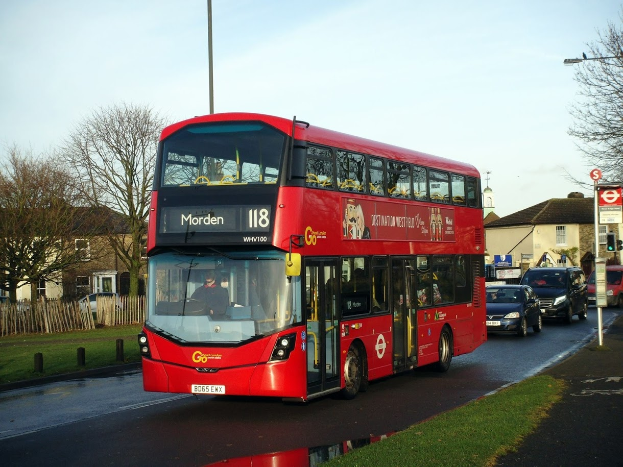 London Bus Route 118