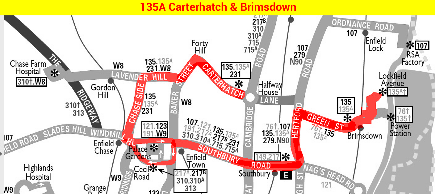 135A map 1976