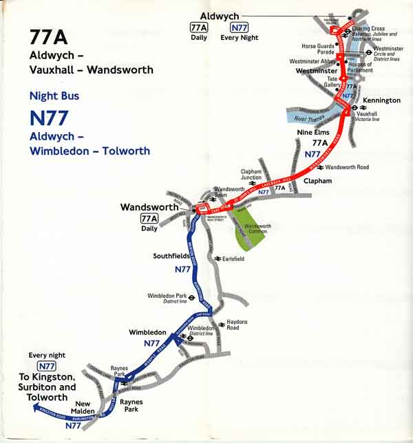 77A map
